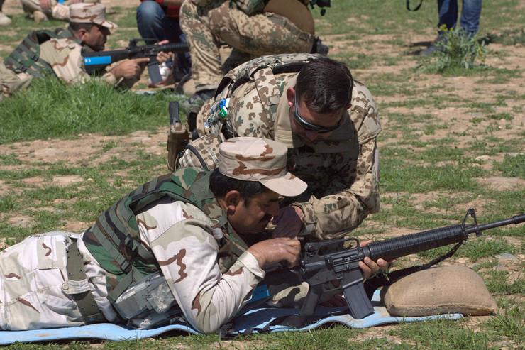 Nemačka vojska u Iraku EPA AHMED JALIL