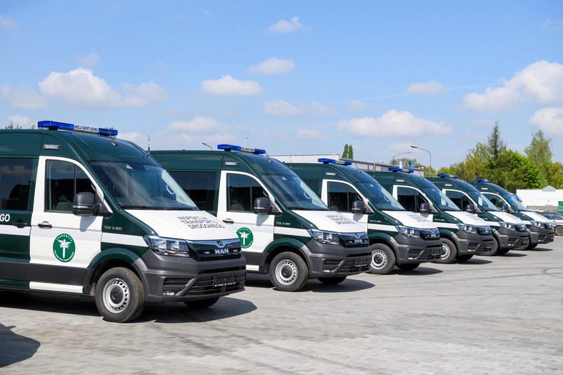 Inspekcja Transportu Drogowego otrzymała nowe radiowozy
