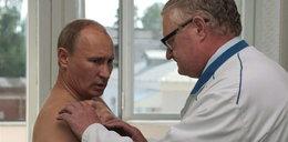 Putin u lekarza w Smoleńsku. Boli go...