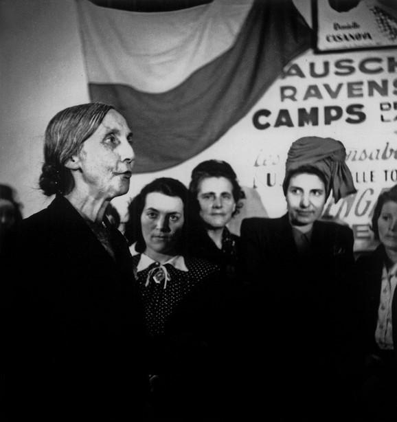 Neke od preživelih žena iz Ravensbrika