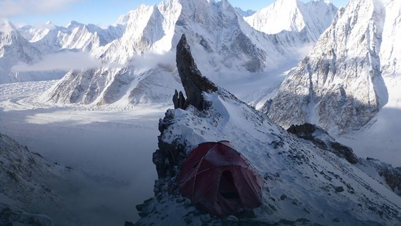 Broad Peak - wyprawa PZA 2013 - obóz I