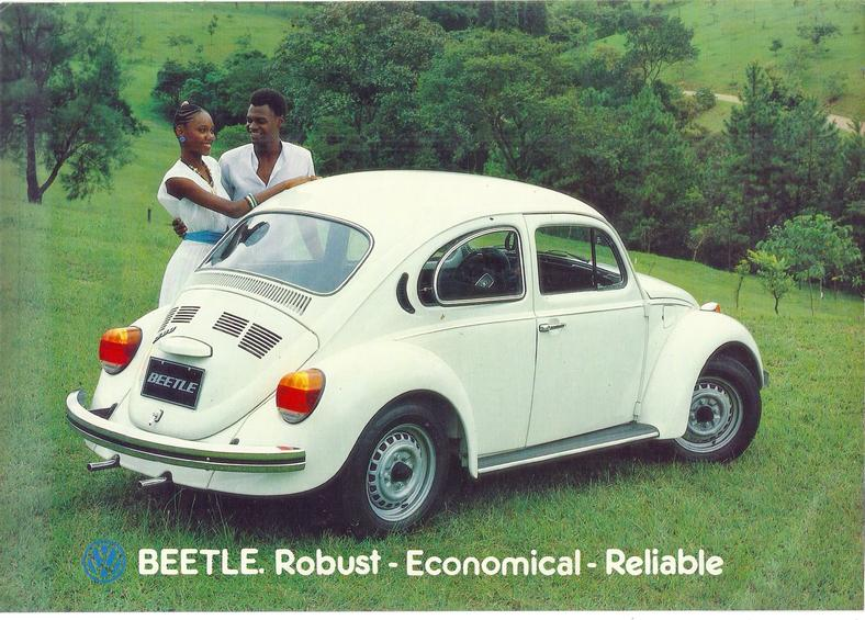 A Nigerian advert of The Beetle in 1985 (The Samba)