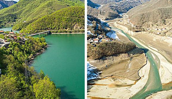 Jablanicko jezero - nekad i sad