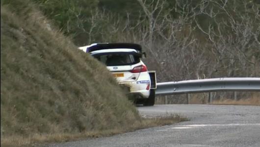 Sebastien Ogier miał kraksę Fiestą WRC