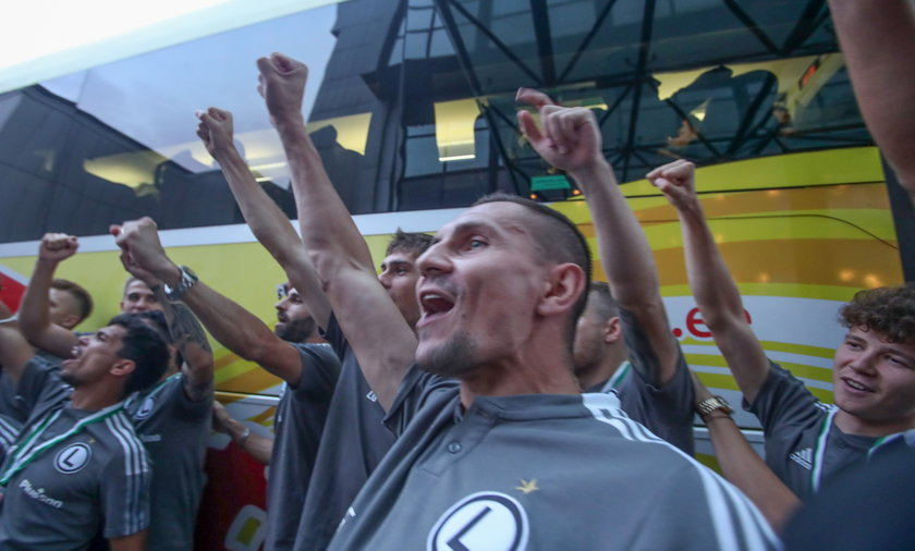 Pilka nozna. Liga Mistrzow. Flora Tallinn - Legia Warszawa. 27.07.2021