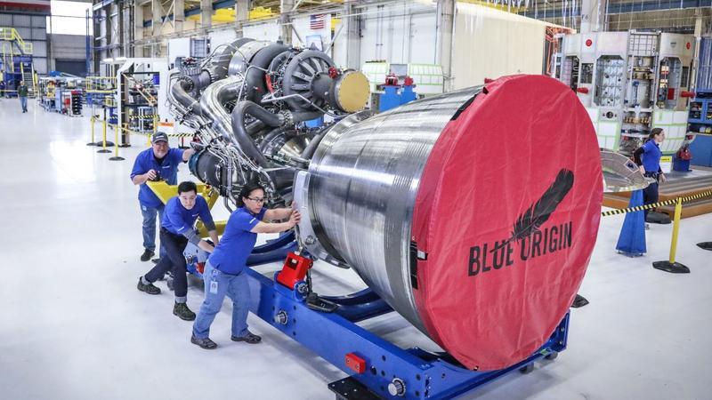 Nowy silnik Blue Origin przeszedł pierwszy test