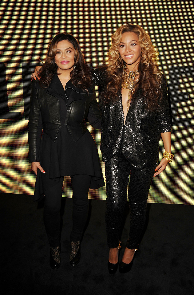 Tina i Beyonce Knowles (fot. Getty Images)