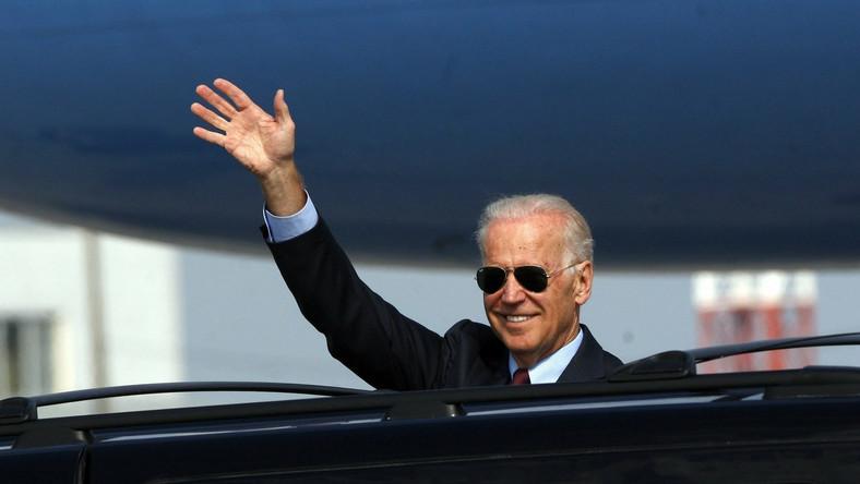 Joe Biden przyjechał na Ukrainę