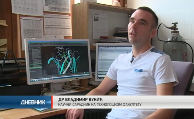 Doktor Vladimir Vukić traži lek za rak