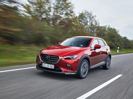 Mazda CX-3 – tylko drobne zmiany