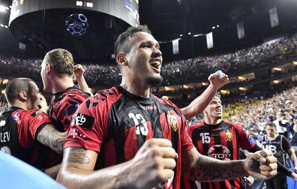 Radost rukometaša Vardara nakon prolaska u finale Lige šampiona