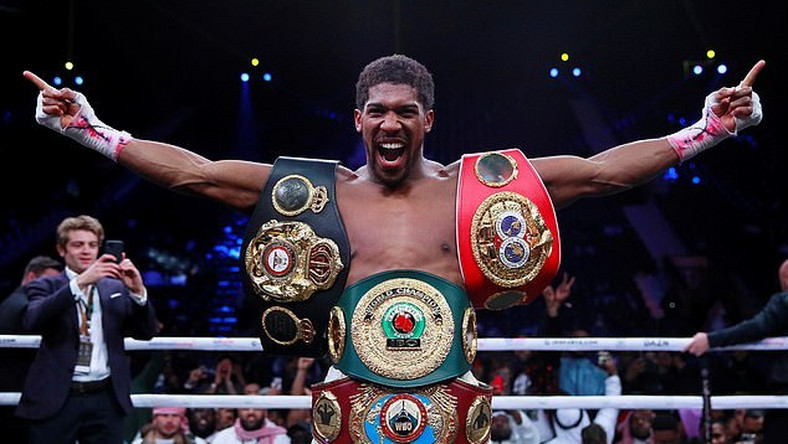 Anthony Joshua has agreed terms with Tyson Fury for a two-fight seal (Action Images via Reuters)