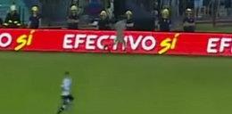 Duch na meczu piłkarskim? Szokujące nagranie! WIDEO