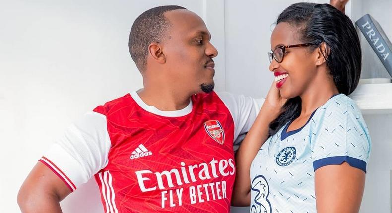 KTN news anchor Ben Kitili & wife Amina Mude celebrate second wedding anniversary in Quarantine