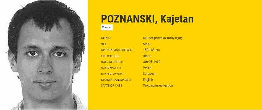 Rutkowski oferuje nagrodę za wskazanie Kajetana Poznańskiego