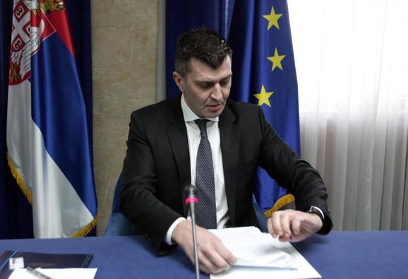 Na čelu Koordinacionog tima za praćenje tokova iz oblasti ekonomskih migracija u Srbiji je ministar Zoran Đorđević
