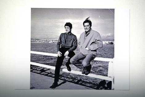 Miloš Milošević i Alen Delon