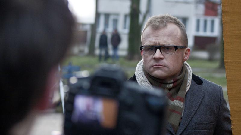 "Coma na planie teledysku do utworu ""Los Cebula i krokodyle łzy"" (fot. mat. prasowe)"