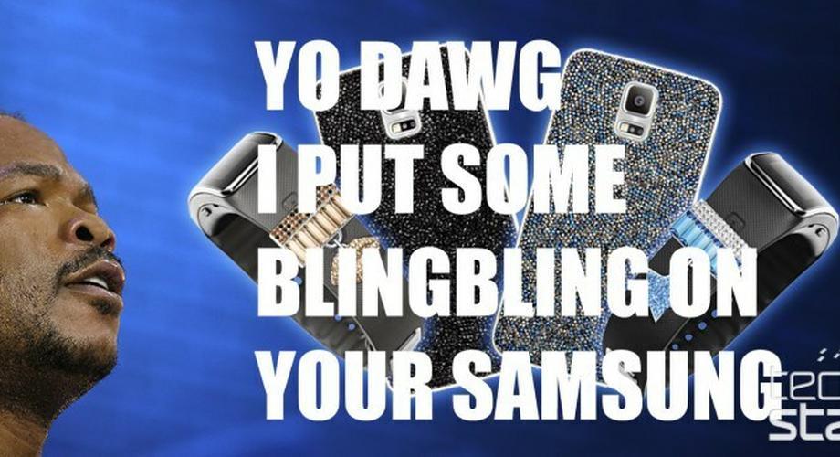 """""""Swarovski for Samsung"""" bringt Glitter auf S5 und Gear Fit"""