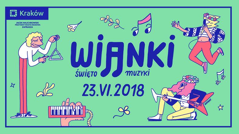 Wianki: Święto Muzyki w Krakowie już 23 czerwca