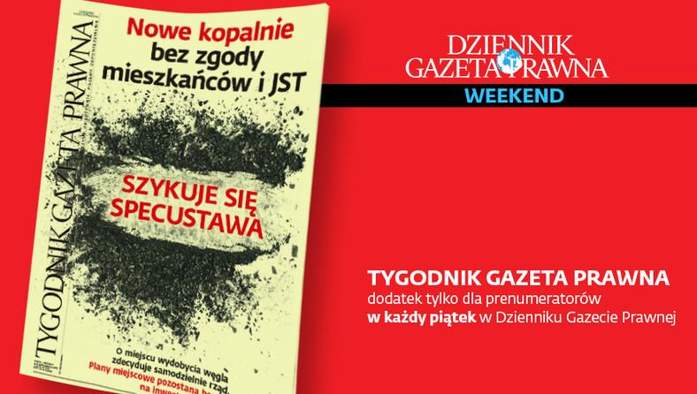Tygodnik Gazeta Prawna. TGP. Okładka. 4 października 2019 r.