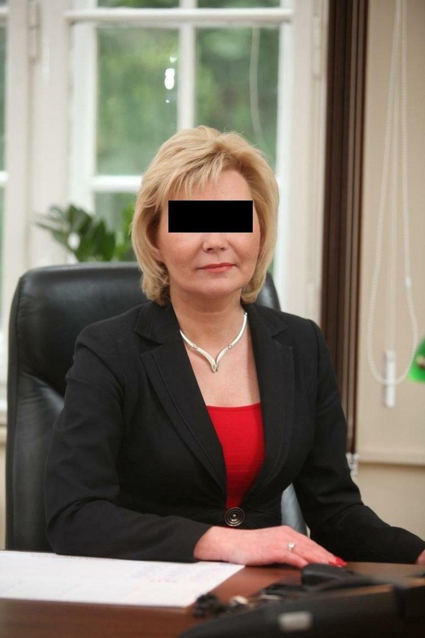 Aleksandra S.(53l.) przewodnicząca Rady Miejskiej w Rudzie Śląskiej  jechała po pijaku. Zatrzymała ją policja