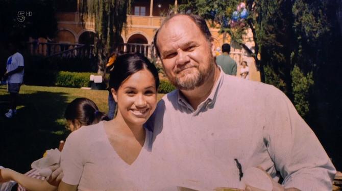 Megan Markl sa ocem Tomasom Marklom