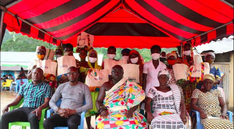 Bryan Acheampong Foundation supports 600 pregnant women and 1,000 infants in Kwahu East