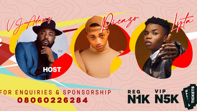 VJ Adams, Lyta, Picazo & more to headline at The Connect Party in Ilorin