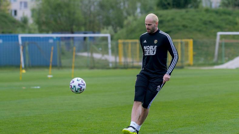 Filip Raicevic, zdobywca jednej z bramek