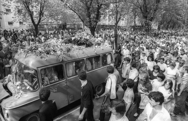 Pogrzeb Grzegorza Przemyka, 1983 r.