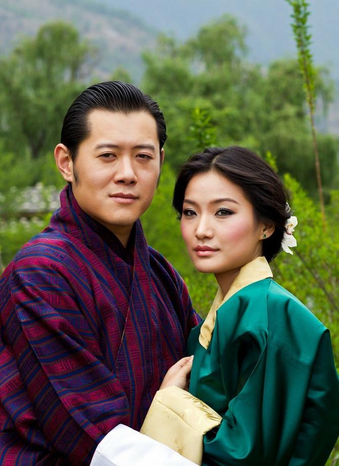 Kraljica i kralj Butana