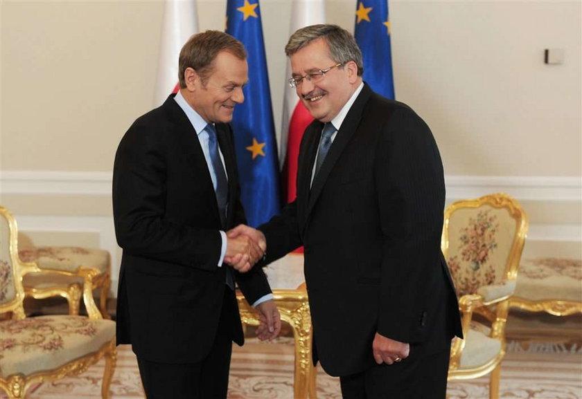 Premier był u prezydenta. Rozmawiali o rządzie. FOTO