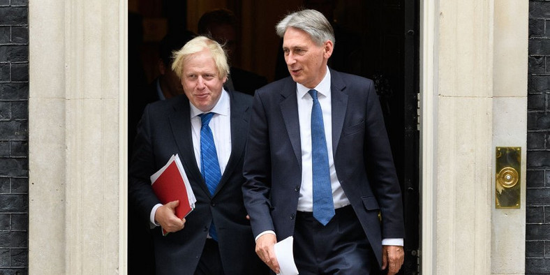 boris johnson philip hammond