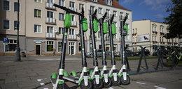 W Gdańsku powstały parkingi dla hulajnóg. To koniec z porzucaniem ich gdzie popadnie?