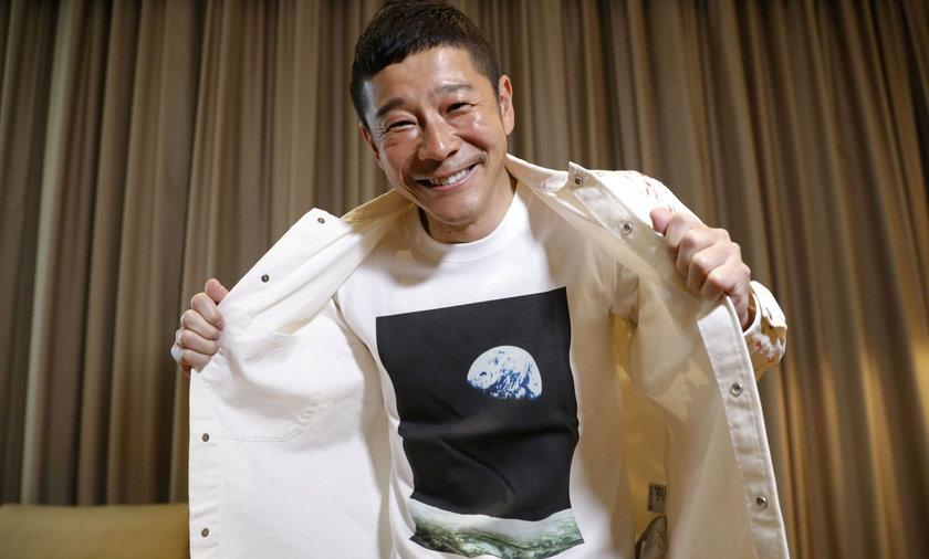 Yusaku Maezawa szuka chętnych, którzy polecą z nim na Księżyc