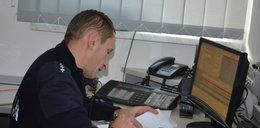 Tak policjant ratował dziecko przez telefon. Posłuchaj!