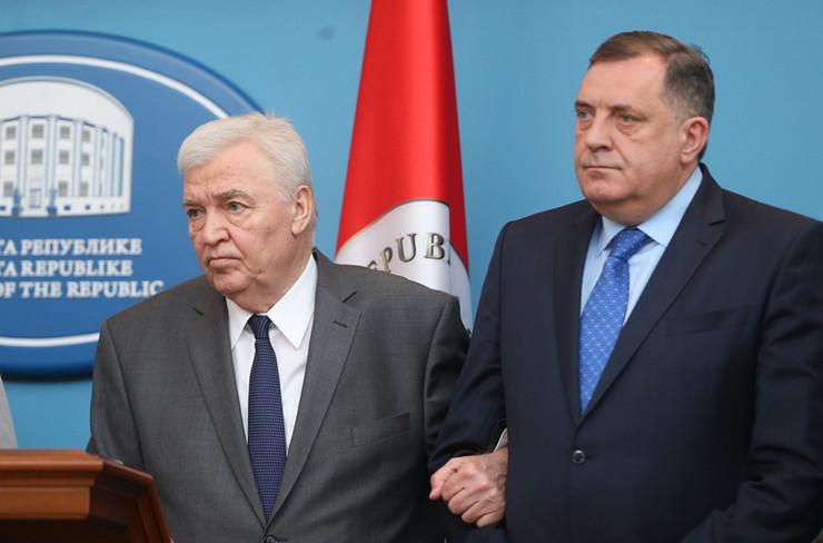 Marko Pavic i Milorad Dodik