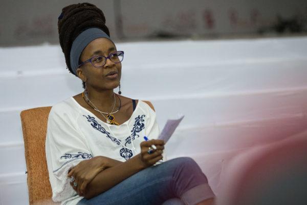 Nnedi Okorafor is an award-winning sci-fi novelist  (Ake Festival)