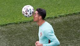 Cristiano Ronaldo has scored 104 times for Portugal Creator: Laszlo Balogh