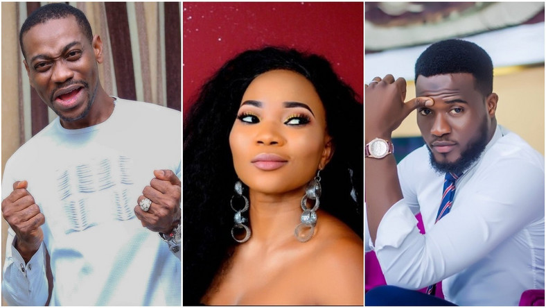 Pulse takes a look at the careers of 7 bright stars and talent rocking the Yoruba movie industry. [Instagram/Adedimeji Lateef/Jumoke Odetola/Mustapha Sholagbade]