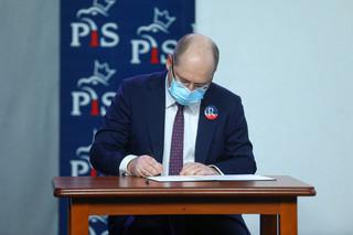 Bielan: Wynegocjowaliśmy umowę koalicyjną, będzie to dokument poufny