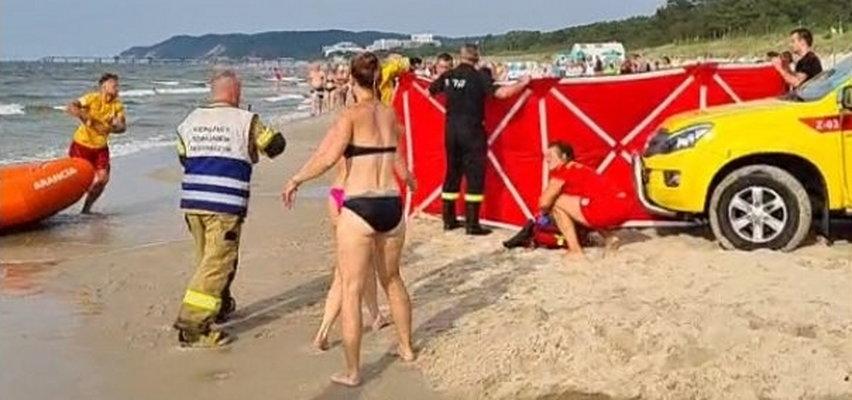 Chłopiec tonął w Bałtyku. Znaleźli go w wodzie po przerażająco długim czasie dzięki łańcuchowi życia