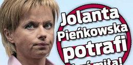 Jolanta Pieńkowska potrafi być miła!