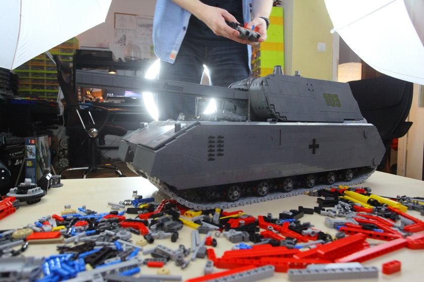 Pasjonat Lego z Warszawy