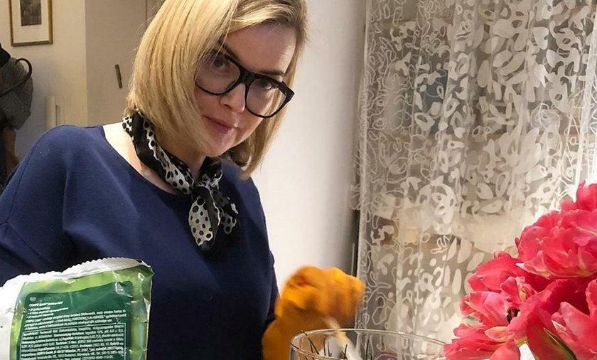 Monika Zamachowska ma dziwny sposób na koronawirusa