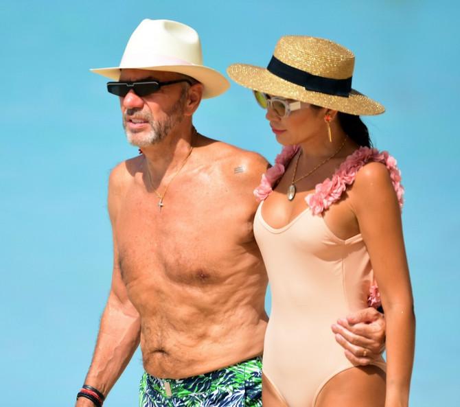 Poznati par na Barbadosu