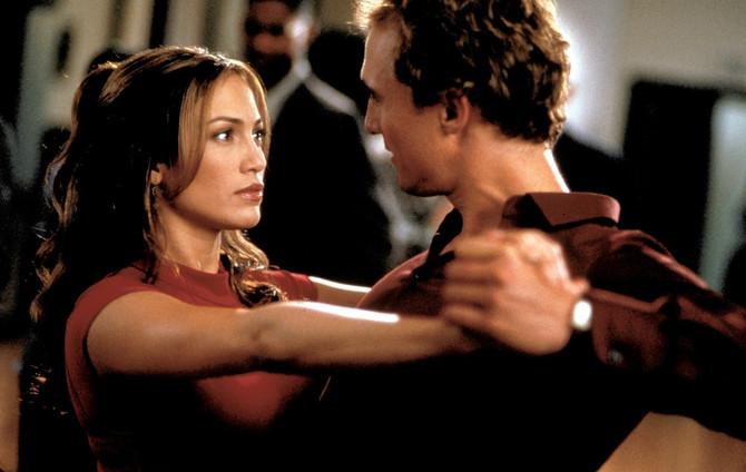 "Dženifer Aniston i Metju Mekonahi u filmu ""Wedding planner"""