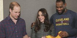 Wpadka gwiazdy NBA, złapał księżną Kate za...!