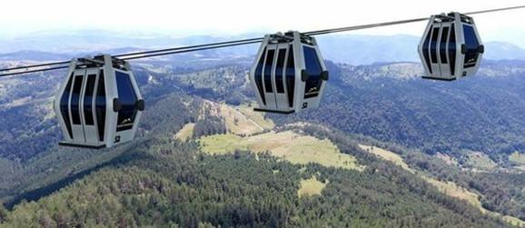 Gondola će 8.866 metara dugom trasom povezati Zlatibor i Tornik